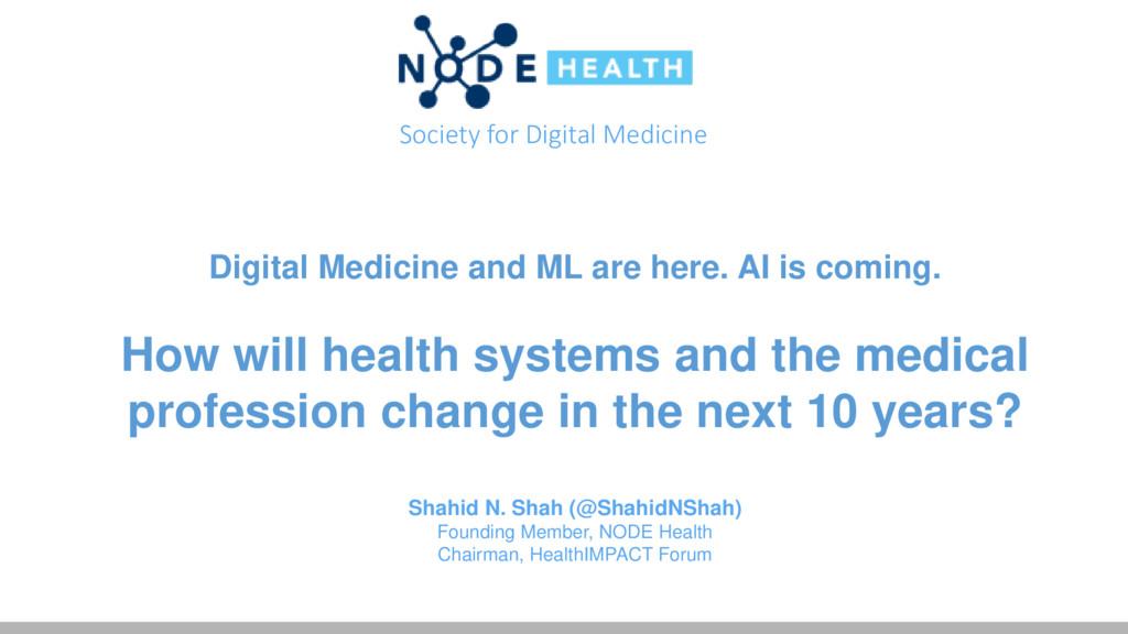 Shahid Shah - Gov 2 0, Health IT, Bio IT & digital Medical