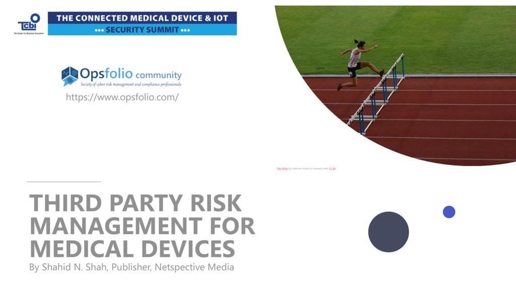 Practical Risk Management for Medical Devices